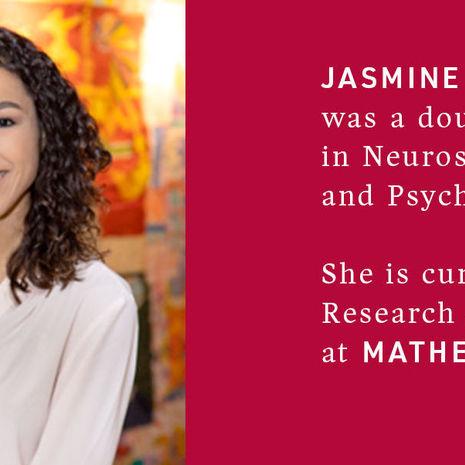 Neuroscience and Psychology Neuroscience double major Jasmine Ford