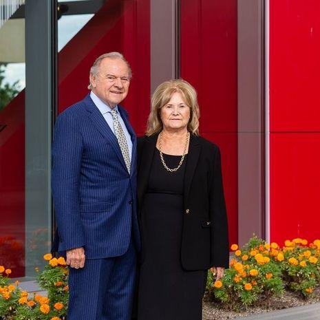 Temple University Alumni Leonard and Helena Mazur