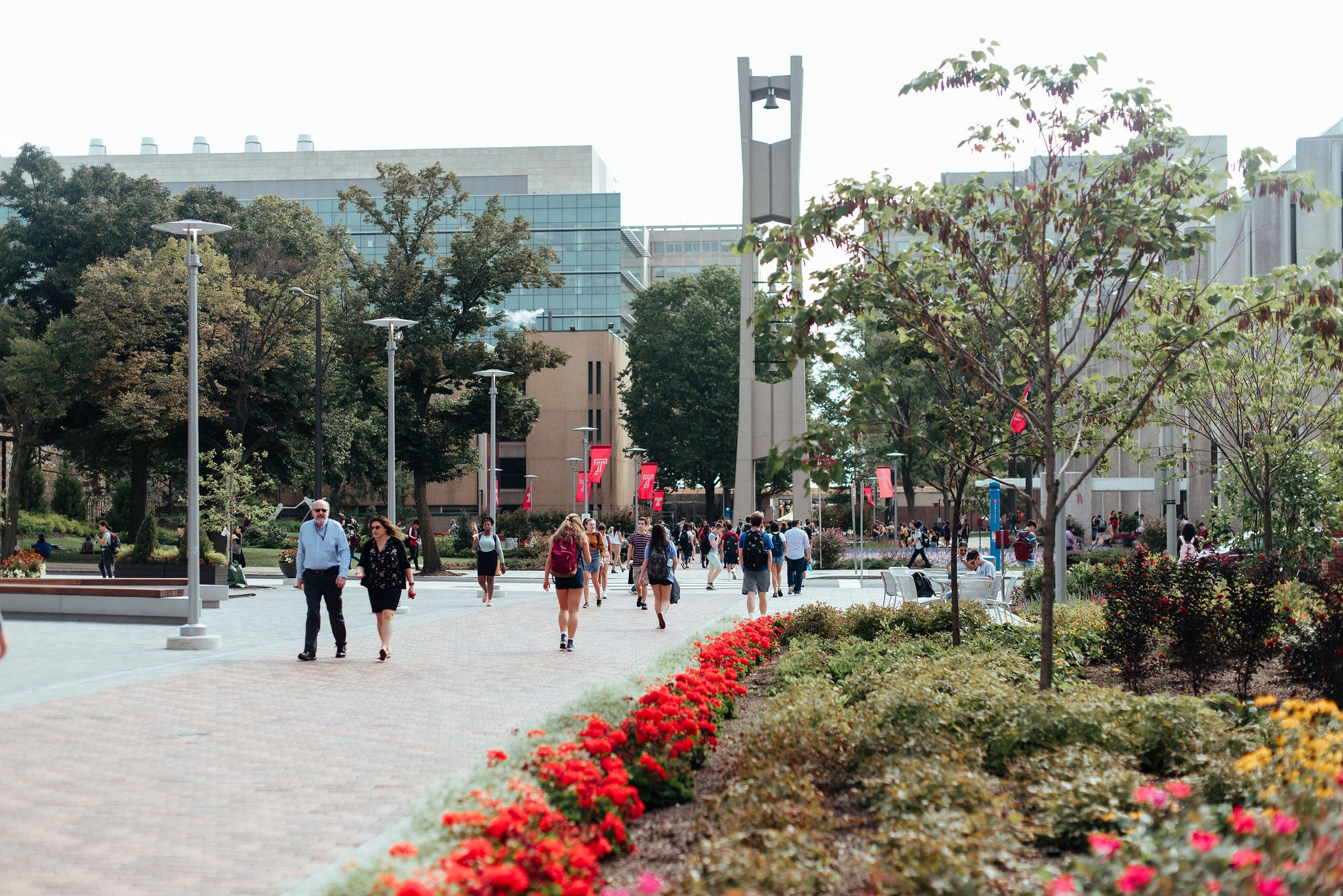 bell tower and liacourus walk