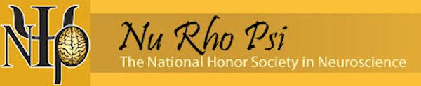 image of nu rho psi logo